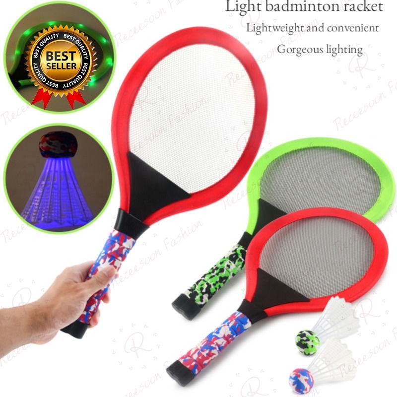 Funny Parent-child Game Garden Kids Gift Exercise Educational Badminton Set Badminton Kindergarten Sports Toy For Boys And Girls
