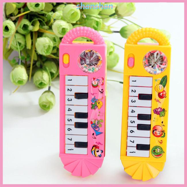 Children Mini Electronic Piano Keyboard Portable Intelligent Musical Toy Early Education Tool