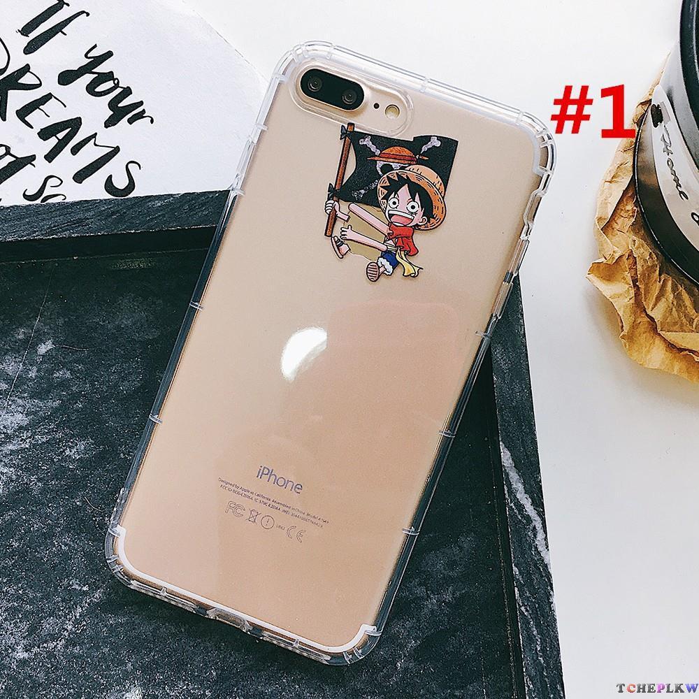 Cute One Piece plastic case for iPhone 6 / 6s / 6plus / 7/8 / 7plus / 8plus / X