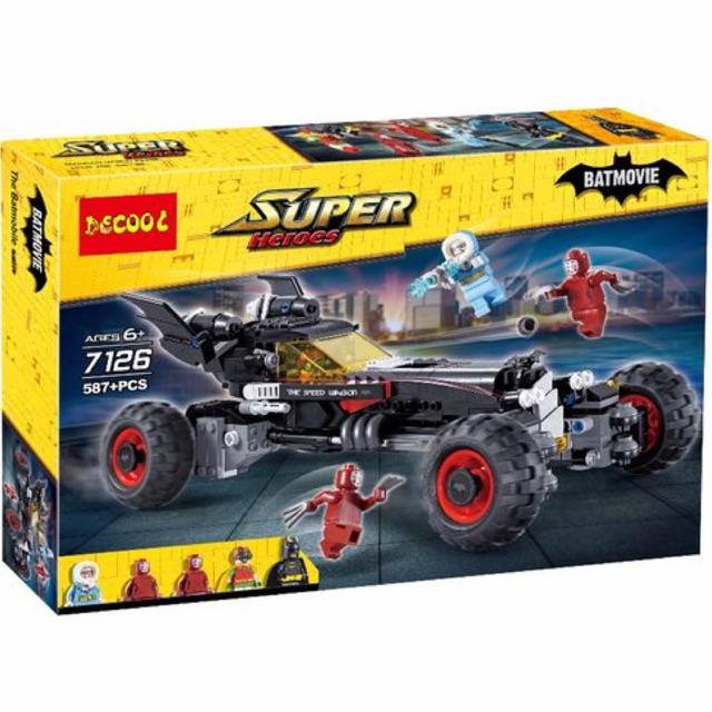 Lego super hero 7126 - Xe ô tô Batmobile của Người Dơi