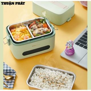 Hộp cơm cắm điện Bear DFH-B15Q1, nấu chín, hâm nóng và giữ nhiệt cho thức ăn, sử dụng inox cao cấp 304