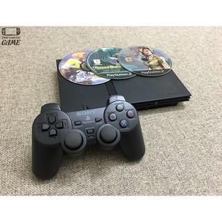 Máy game PS2 Slim chạy đĩa Copy