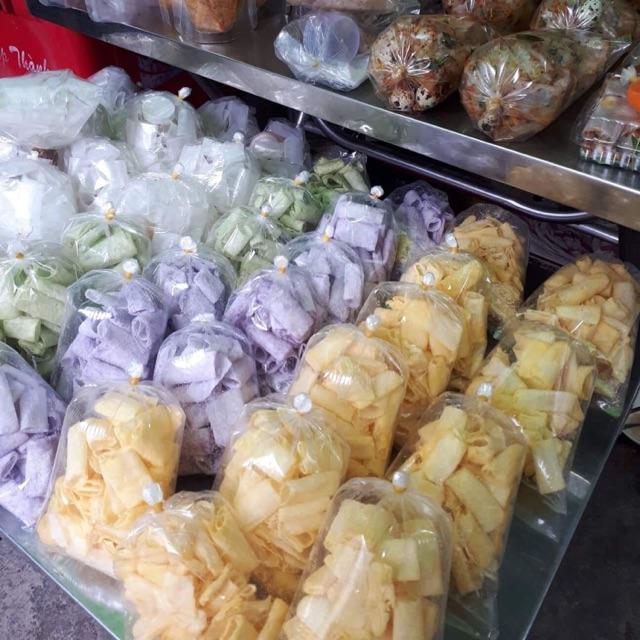 Combo 20bich Bánh tráng ngọt có 3 vị: phô mai, trà xanh, khoai môn. Bao bán đắt . Độc quyền nhà làm