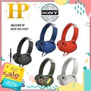 Tai nghe on-ear Extra Bass Sony MDR-XB550AP - Hàng Chính Hãng