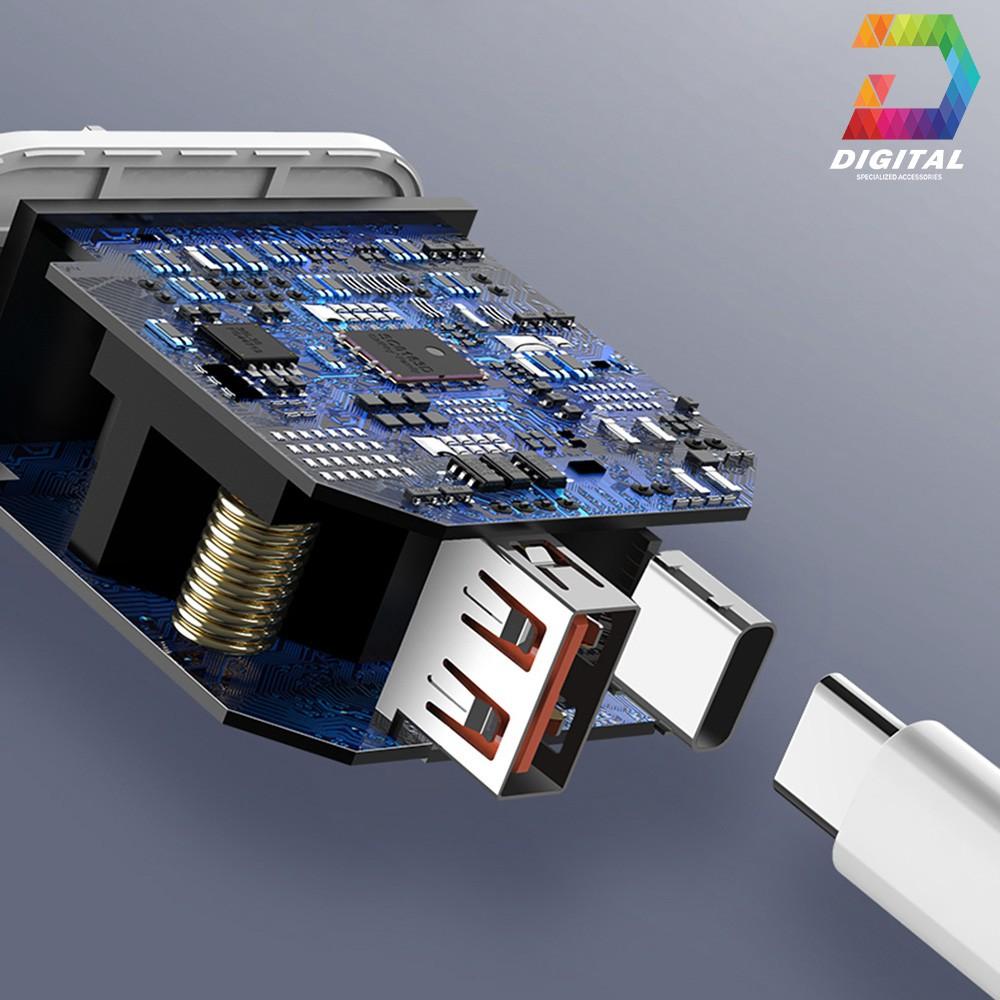 Bộ Sạc Nhanh Đa Năng PD 18W Remax RP-U54 Chính Hãng Kèm Cáp C to Lightning