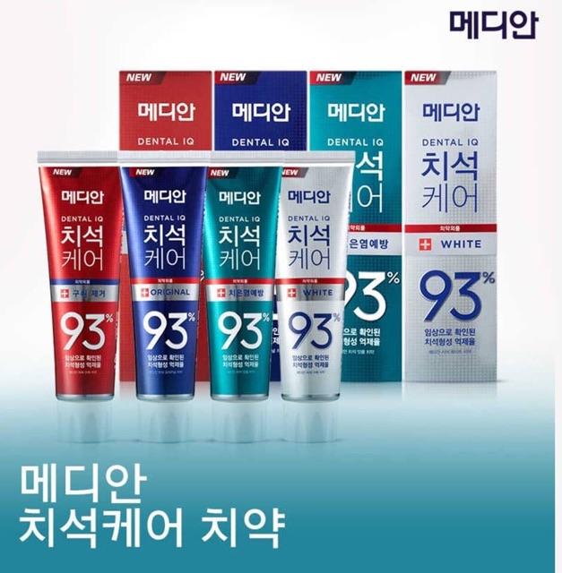 Kem đánh răng MEDIAN 93% Hàn Quốc