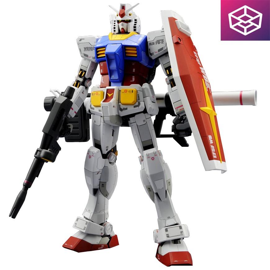 Mô Hình Lắp Ráp Bandai MG RX-78-2 Gundam Ver.3.0 - 2968738 , 1037351759 , 322_1037351759 , 1549000 , Mo-Hinh-Lap-Rap-Bandai-MG-RX-78-2-Gundam-Ver.3.0-322_1037351759 , shopee.vn , Mô Hình Lắp Ráp Bandai MG RX-78-2 Gundam Ver.3.0