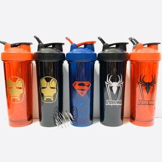 💥 Shaker, Bình Nước Binh Lắc Thể Thao, Dành Chạy Bộ, Tập Gym, Chơi Thể Thao DC Comic Pro (800ml) – Protein Center