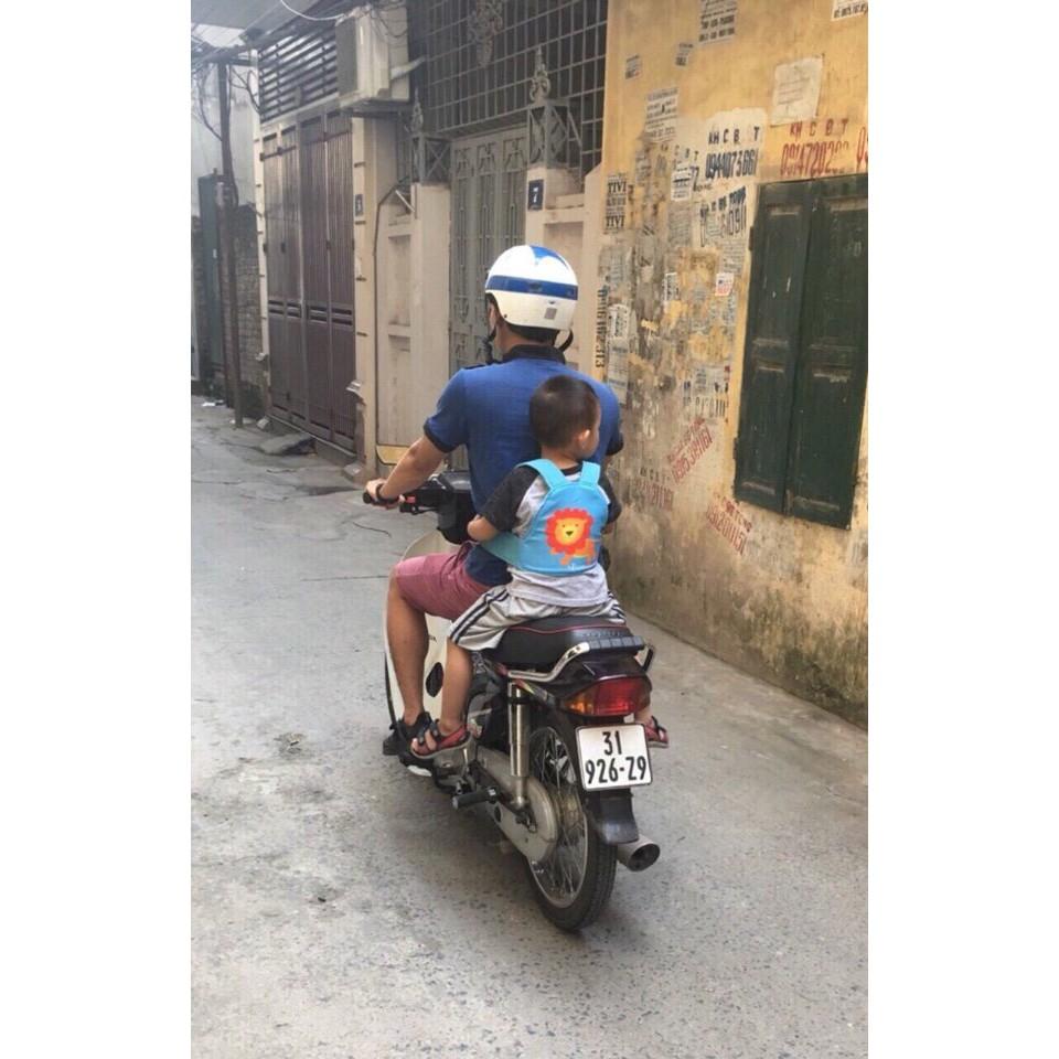 Đai đi xe máy dạng balo - Hàng Việt Nam 2020