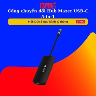 Cổng chuyển đổi Hub Mazer USB-C 5-in-1