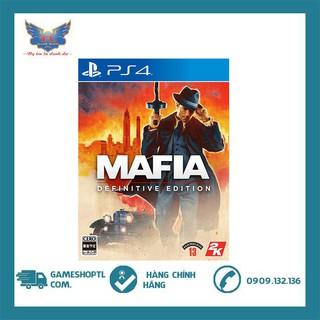 [Mã 157ELSALE hoàn 7% đơn 300K] ĐĨA GAME MAFIA DEFINITIVE EDITION CHO MÁY PLAYSTATION 4 thumbnail
