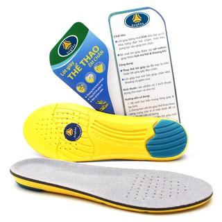 Lót giày đa năng cực êm chân, chống thốn gót chân và thấm hút mồ hôi, chống hôi chân_ buybox _  BBPK26