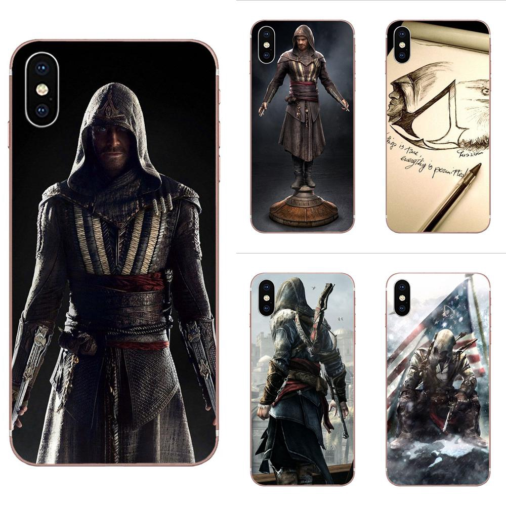 Ốp Điện Thoại Mềm In Hình Game Assassin Creed Cho Iphone 11 Pro X Xs Max Xr 6 6s 7 8 Plus