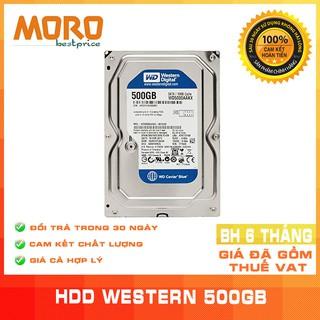 [Mã ELMS05 giảm 5% đơn 300K] Ổ cứng HDD WD 500GB - Nhập khẩu từ Nhật Bản, Hàn Quốc mới 99% - Bảo hành 6 tháng 1 đổi 1