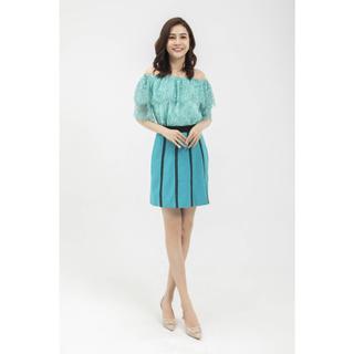 Chân váy xanh ren thiết kế Elise thumbnail