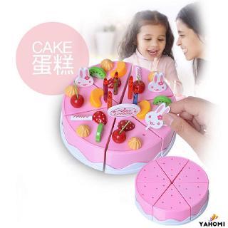 ❀Yaho❀37PCS/Set DIY Birthday Cake Model Toy