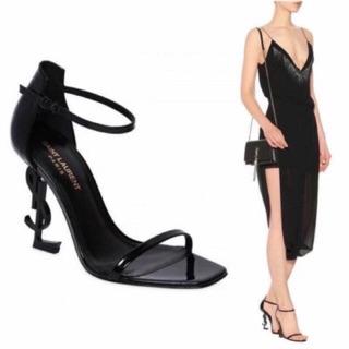 Sandal cao gót giày cao gót guốc cao gót đế vàng sang chảnh hàng cao cấp fullbox