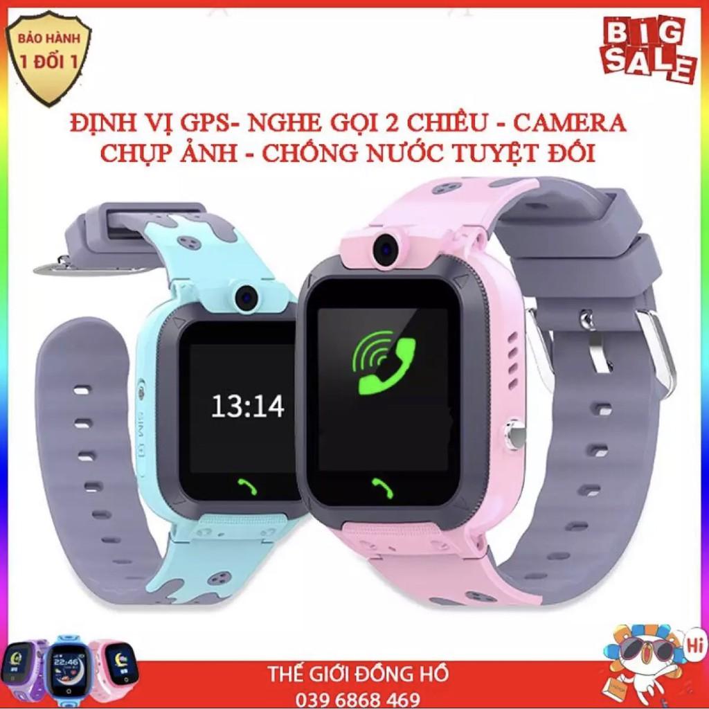 Đồng hồ định vị trẻ em GPS ECO E16 Chống nước IP67, có Camera chụp ảnh từ xa, bảo hành 1 đổi 1