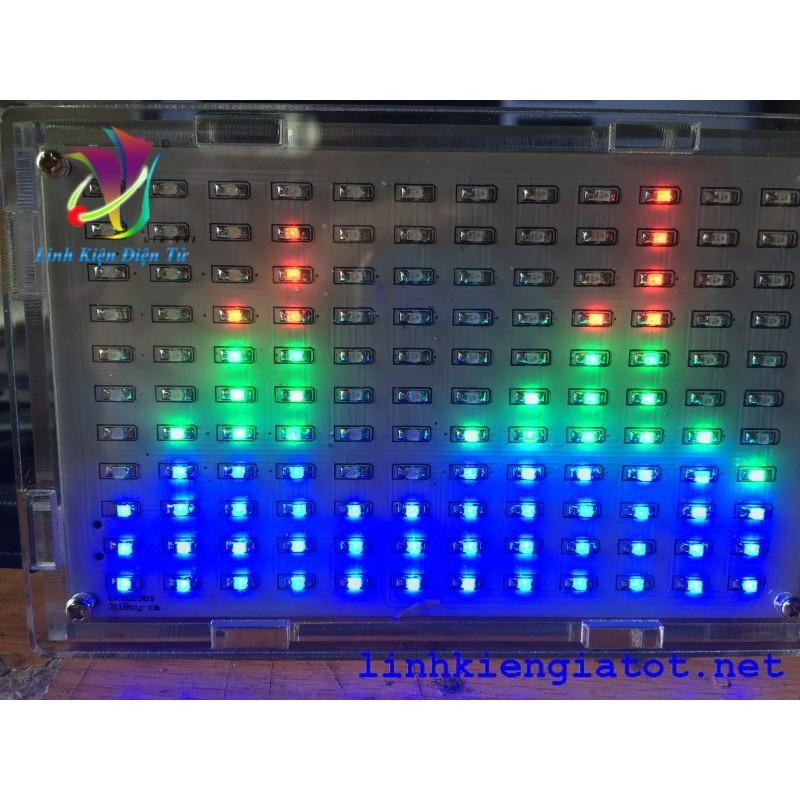 DIY LED Nháy Theo Nhạc 12 Cột Đa Sắc