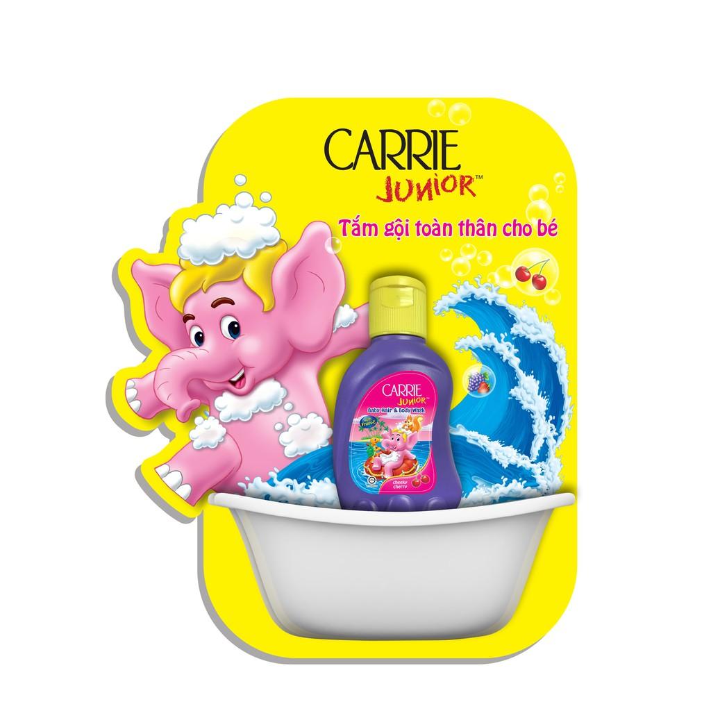 Hình ảnh Dung dịch tắm gội toàn thân cho bé Carrie Junior 32g-1