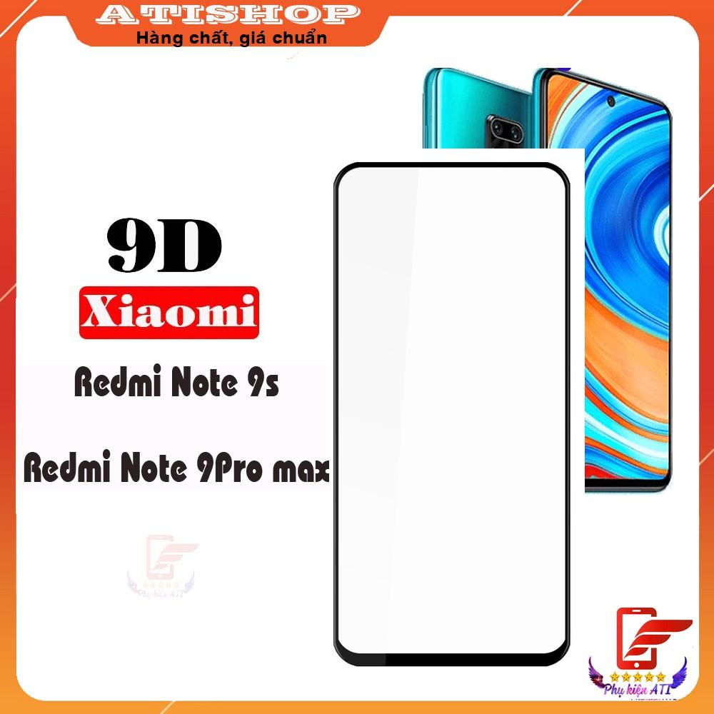 Kính cường lực Xiaomi Mi Note 9s/ Note 9 Pro/ Note 9 Pro max- Full màn hình