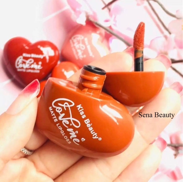 Son Kem Tint Kiss Beauty Trái Tim For Valentine