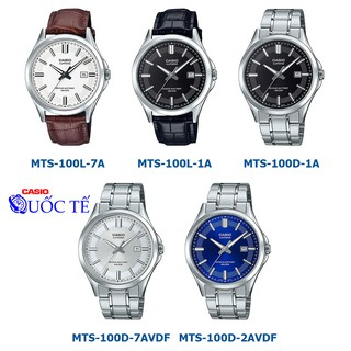 Đồng hồ nam casio FREESHIP Đồng hồ casio MTS-100L-7A MTS-100L-1A MTS-100D-1A MTS-100D-7A MTS-100D-2A thumbnail