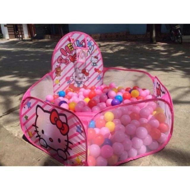 Lều bóng kèm 100 bóng cho bé (SHOP GIÁ SỈ LẺ VÀ LẺ)
