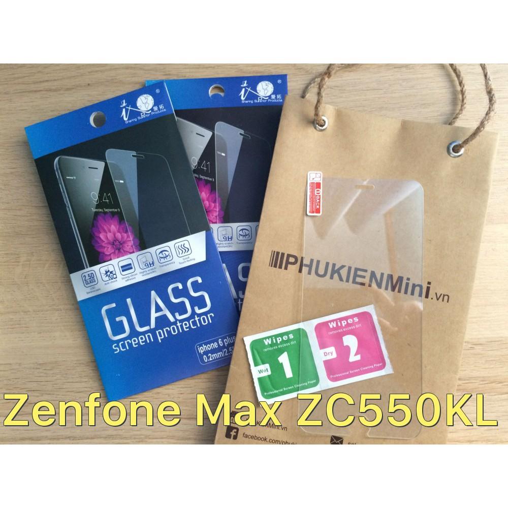 Dán cường lực 9H cho Asus Zenfone Max ZC550KL