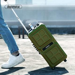 Loa kéo Bluetooth Karaoke cao cấp Remax RB-X5 công suất 50W - Kèm 2 micro không dây