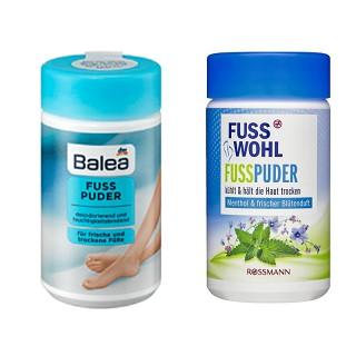 Bột khử mùi hôi chân Balea, hôi giày Balea Fuss Wohl 100g thumbnail