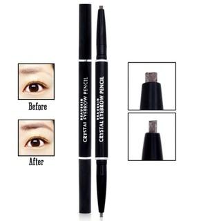[ Hàng Chính Hãng] Chì Kẻ Mày Vặn 2 Đầu Beauskin Crystal Eyebrow Pencil Hàn Quốc ( ĐỦ .SỐ) + Tặng 1 khuôn mày thumbnail