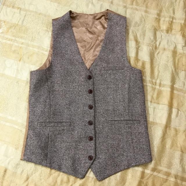Gile, áo vest dạ, sooc bò, sooc vải