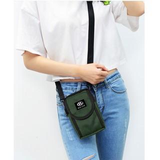 ( FREESHIP 50K ) Túi đeo chéo nam nữ unisex thời trang Hàn quốc để điện thoại chống thấm nước BEE GEE 099 thumbnail