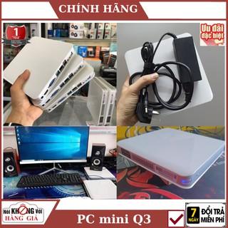 PC Mini Q3 Nhỏ Gọn- Mạnh Mẽ THẾ HỆ 4 N2940, N2930 RAM 4Gb SSD 120Gb – Bảo hành 12 tháng – [ ẢNH THẬT 100%] , pc gaming