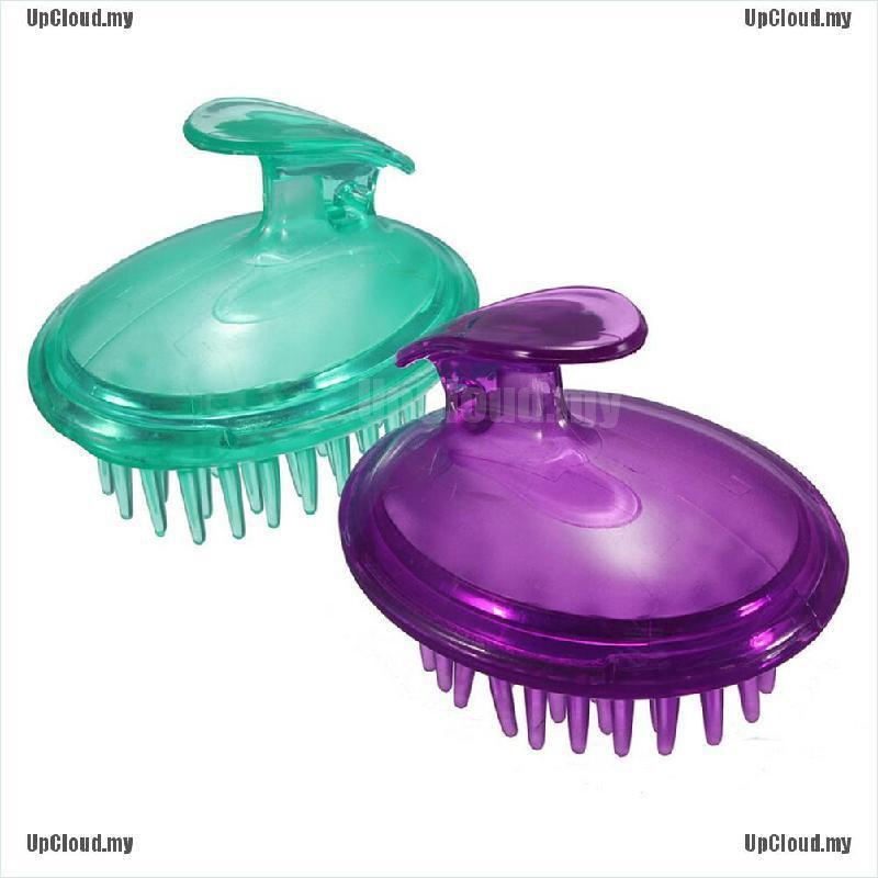 Lược Silicone mát xa da đầu khi tắm tiện dụng