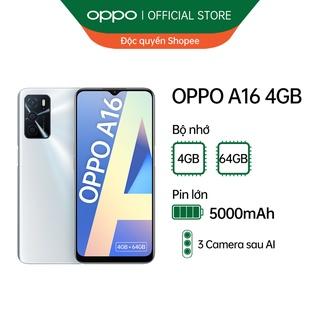 Độc quyền Shopee - Điện thoại OPPO A16 4GB - Hàng chính hãng thumbnail