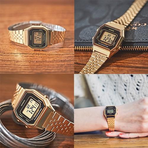 Đồng hồ nữ Casio Anh Khuê LA680WGA-9BDF Chính hãng
