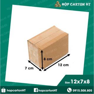 12x7x8 Combo 100 hộp carton (freeship hà nội) thumbnail