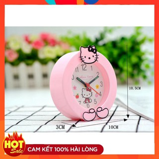 (Cắt Lỗ) Đồng hồ để bàn Hello Kitty–5444 (Loại Tốt)