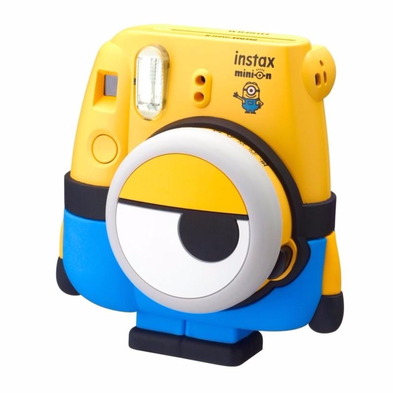 Máy chụp ảnh Fujifilm Instax mini 8 Minion + tặng 1 pack film instax mini 10 tấm