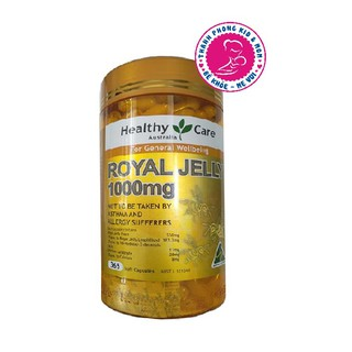 ( SALE OFF 50% ) Sữa Ong Chúa Úc Healthy Care Royal Jelly 1000 ( date 3 22) thumbnail