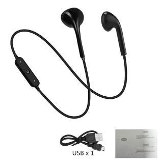 Tai Nghe Topewon Kết Nối Bluetooth Có Dây Đeo Cổ + Mic Cho Samsung Huawei Xiaomi