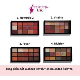 Bảng phấn mắt Makeup Revolution Reloaded Palette thumbnail
