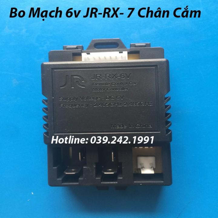 Điều Khiển, Bo Mạch JR-RX6V 7 Chân Và JR1810RX 5 Chân