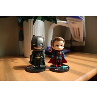 Mô hình Superman vs Batman Chibi Đẹp