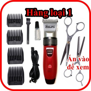 Tông đơ cắt tóc kemei tăng đơ cắt tóc tong đơ hớt tóc máy hớt tóc bộ hớt tóc kéo cắt tóc kemei thumbnail