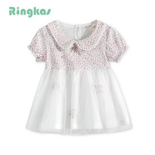 2 lớp váy cho bé thun tiểu thư váy công chúa váy bé gái đầm cho bé gái váy công chúa cho bé cho bé váy cotton cho bé mặc hè từ 0 - 1tuổi