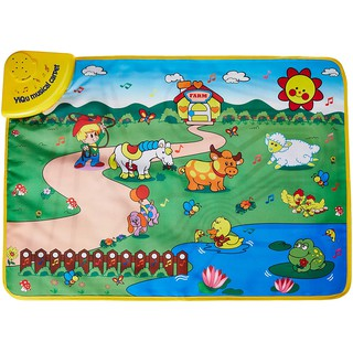 Đồ chơi giáo dục sớm cho trẻ sơ sinh thảm nhạc nông trại vui vẻ cho bé Toyshouse LT2913