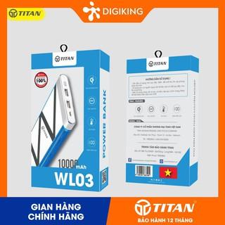 Pin dự phòng không dây 10.000mAh TITAN - WL03 thumbnail